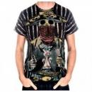 LA AIR LINE Short Sleeve Bandido T-shirt
