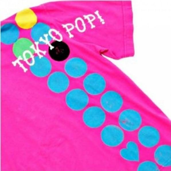 LA AIR LINE Tokyo Pop Mundo Surfer Bubblegum Pink Polo Shirt