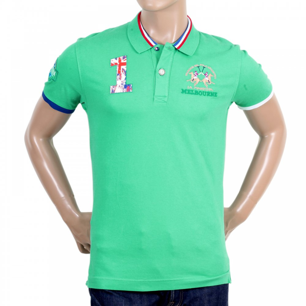 Stone Island Turquoise Polo Shirt V Turquoise