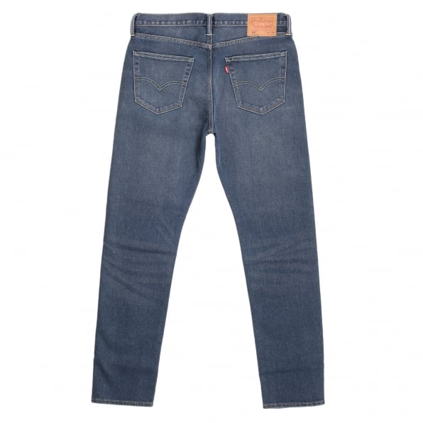 LEVIS Lower Waist Slim Tapered Fit 522 Littlefield Jeans with Bar Tacked at Stress Points