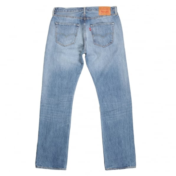 LEVIS Mens Iron Mount 501 Original Fit Jeans with New Hard Wearing Fabric