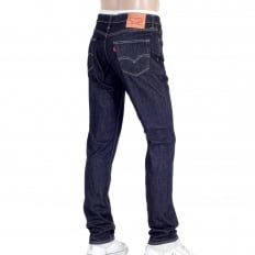 Mens Slim Fit 511 Iron Rockcod Hard Wearing Low Waist Jeans in Dark Blue