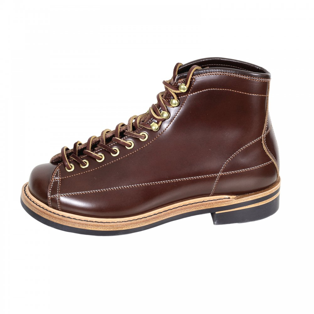 Brown Leather Boots by Lone Wolf