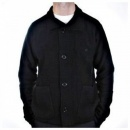 MASSIMO OSTI Black, Regular Fit, Button through High Neck, Knitted Cardigan Jacket