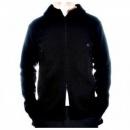 MASSIMO OSTI Black Regular Fit Hooded Long Sleeve Knitwear