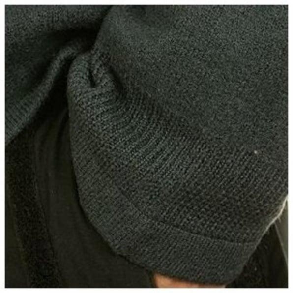MASSIMO OSTI Dark Green Hooded Long Sleeve Knitwear