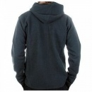 MASSIMO OSTI Dark Green Hooded Long Sleeve Knitwear