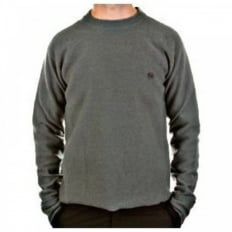 Light Green Crew Neck Long Sleeve Knitwear