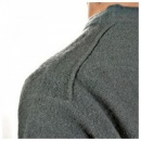 MASSIMO OSTI Light Green Crew Neck Long Sleeve Knitwear