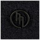 MASSIMO OSTI Navy Regular Fit Button through High Neck Knitted Cardigan Jacket