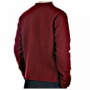 MASSIMO OSTI Red Regular Fit Crew Neck Long Sleeve Knitwear