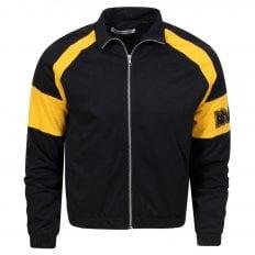 MCQ Mens Black Loose Track Blouson Jacket