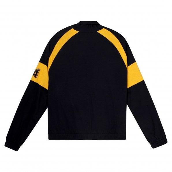 McQ ALEXANDER McQUEEN MCQ Mens Black Loose Track Blouson Jacket