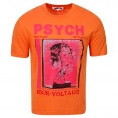 MCQ Mens Psych High Voltage Burnt Orange T Shirt