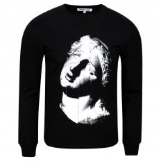 MCQ The Noise Club Mens Black T Shirt