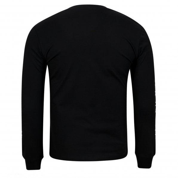 McQ ALEXANDER McQUEEN MCQ The Noise Club Mens Black T Shirt
