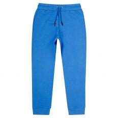 MCQ Wire Blue Mens Embroidered Logo Track Bottoms