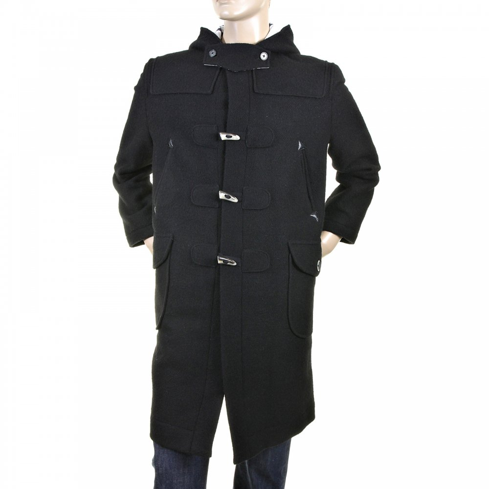 Splendid duffle coat in black from RMC