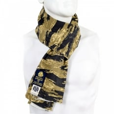 Mens Authentic Vintage Tiger Tea Camo Cotton Scarf