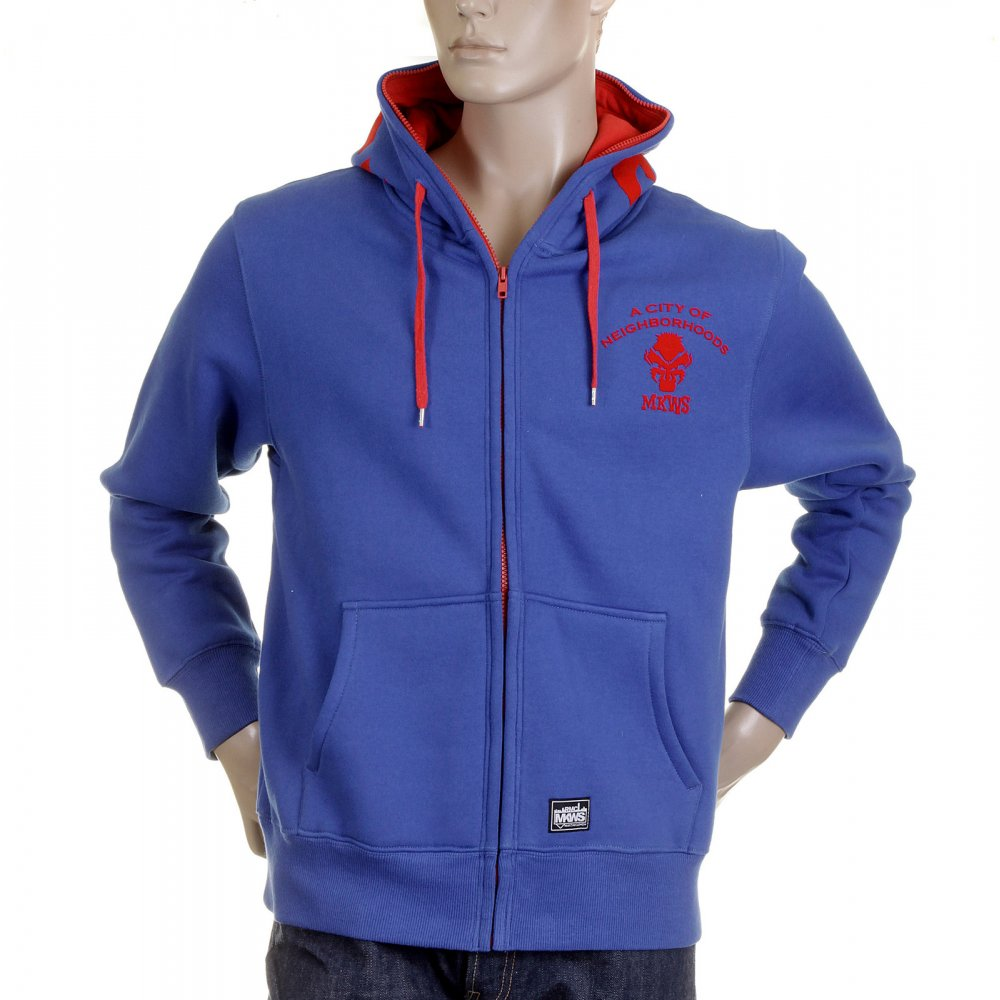 Buy Elegant and Stylish Blue Red Monkey Hoodies for Men