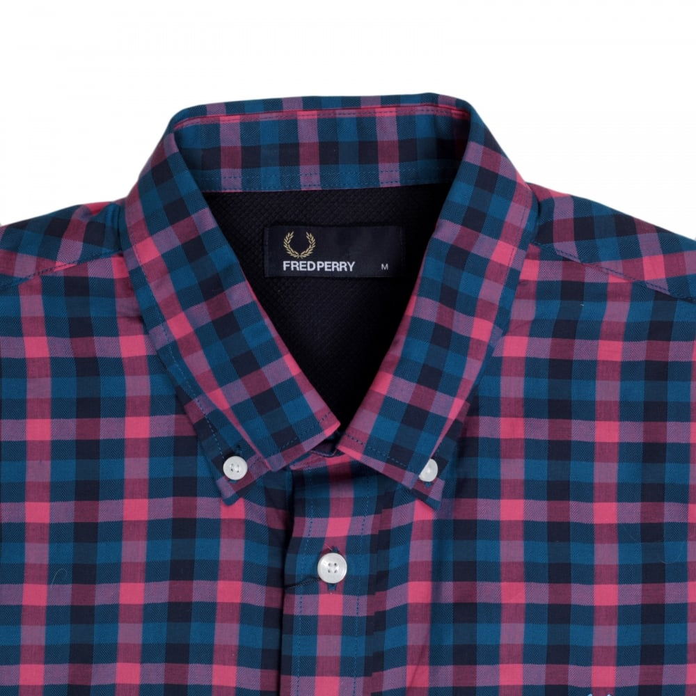 Buy Gingham Check Shirt From Fred Perry At Niro Fashion