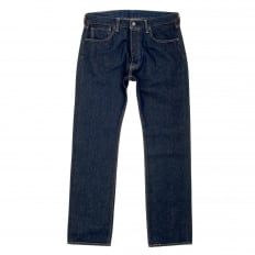 Mens Original Fit 501 Noten Regular Waist Straight Leg Button Fly Dark Indigo Denim Jeans by Levis