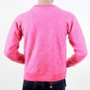 RMC JEANS Mens Pink Large Fitting Crew Neck Sweat Shirt