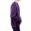 RMC JEANS Mens Purple Large Fitting Crew Neck Sweatshirt