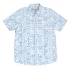 Mens Regular Fit Gary Apache Print Short Sleeve Shirt with Vertical Opening Chest Pockets by Carhartt