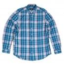 GANT Mens Regular Fit Long Sleeve Button Down Collar Birdie Madras Check Cotton Casual Mens Shirt by Gant
