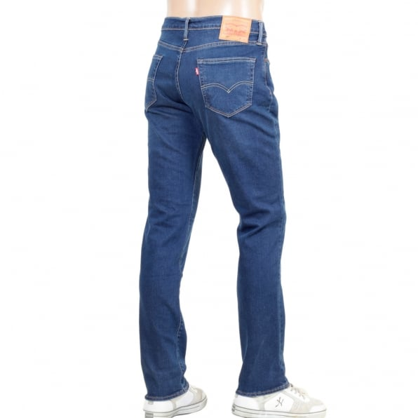 LEVIS Mens Washed China Blue Slim Fit Low Waist Zip Fly 511 Evolution Jeans by Levis