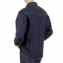 RMC MKWS Mens Washed Denim Long Sleeve Regular Fit Shirt