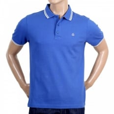 Mens Regular Fit Short Sleeve Royal Blue Polo Shirt