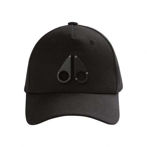 MOOSE KNUCKLES Mens Black Logo Icon Cap