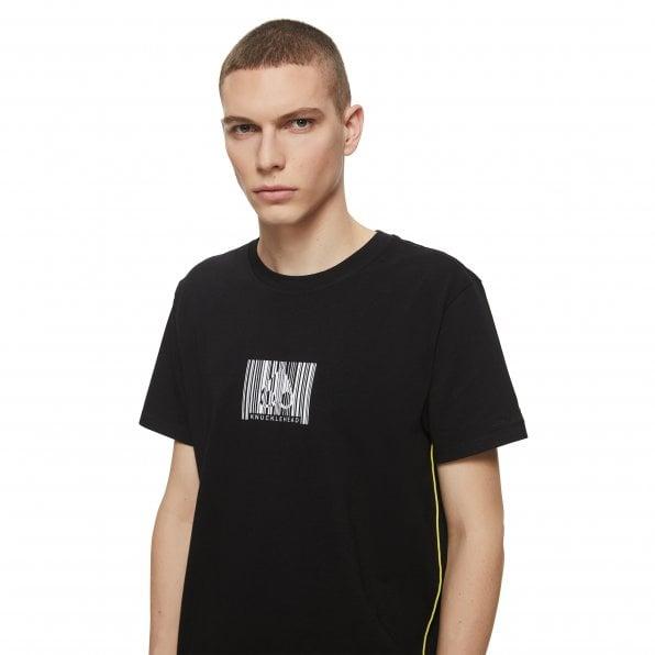 MOOSE KNUCKLES Mens Black Tonight Crewneck T-Shirt