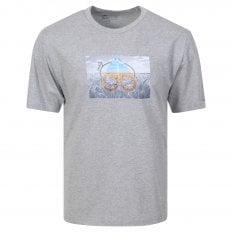 Moose Knuckles Mens Grey Prairie T Shirt