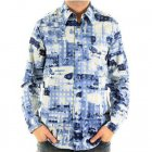 Mens long sleeve printed shirt