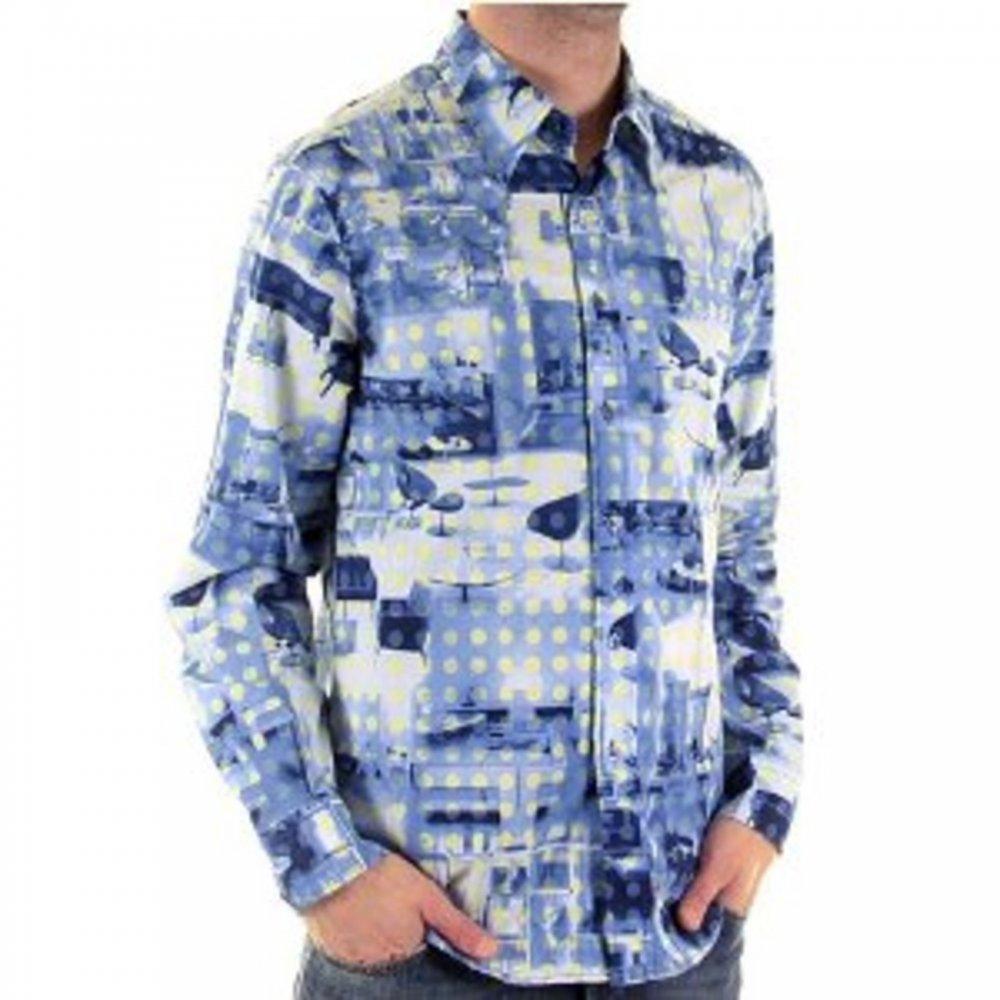 Mens Long Sleeve Polo Shirt