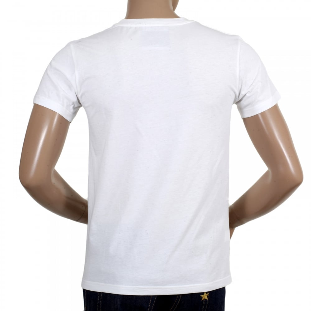 Shop for moschino short sleeve logo t shirt in white for Cotton white t shirt