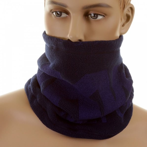 RMC MKWS Navy Fleece Neck Warmer Snood
