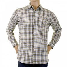 Long Sleeve Multi Checked Shirt