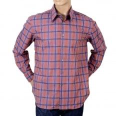 Mens Long Sleeve Check Shirt