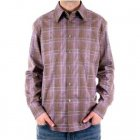 Slim Fit long sleeve Mens checked shirt
