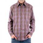Slim Fit long sleeve Mens checked shirt