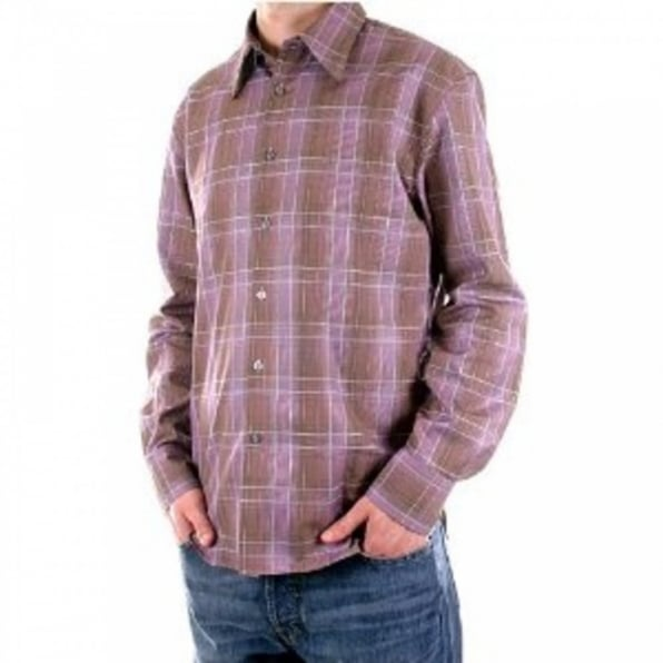 PAUL SMITH Slim Fit long sleeve Mens checked shirt