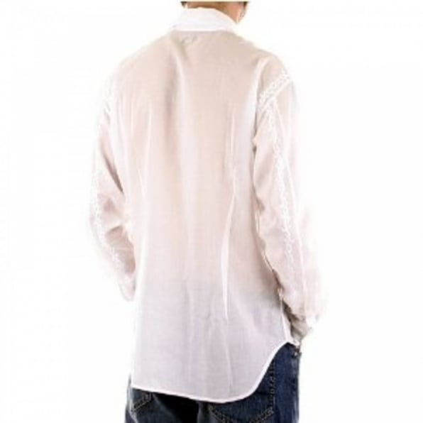 PAUL SMITH White long sleeve mens fashion shirt