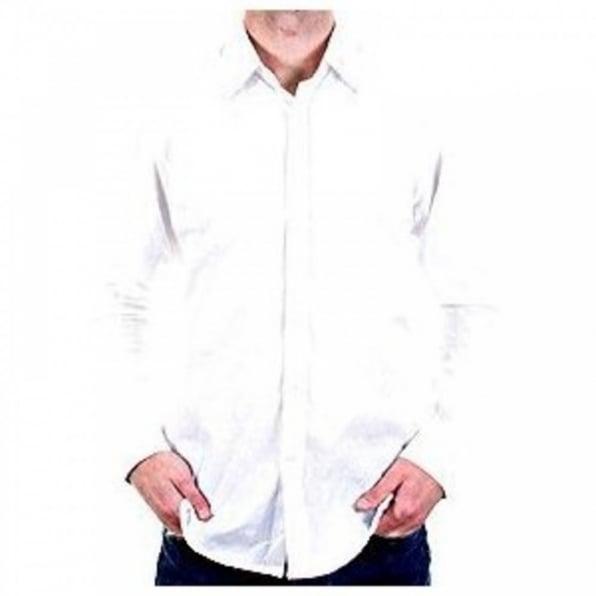 PRINGLE Dunbar Long Sleeve White Shirt