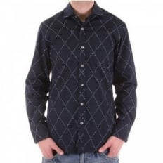 Long sleeve dark navy shirt
