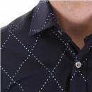 PRINGLE Long sleeve dark navy shirt