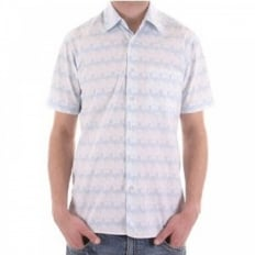 Pastel Colour Short Sleeve Shirt